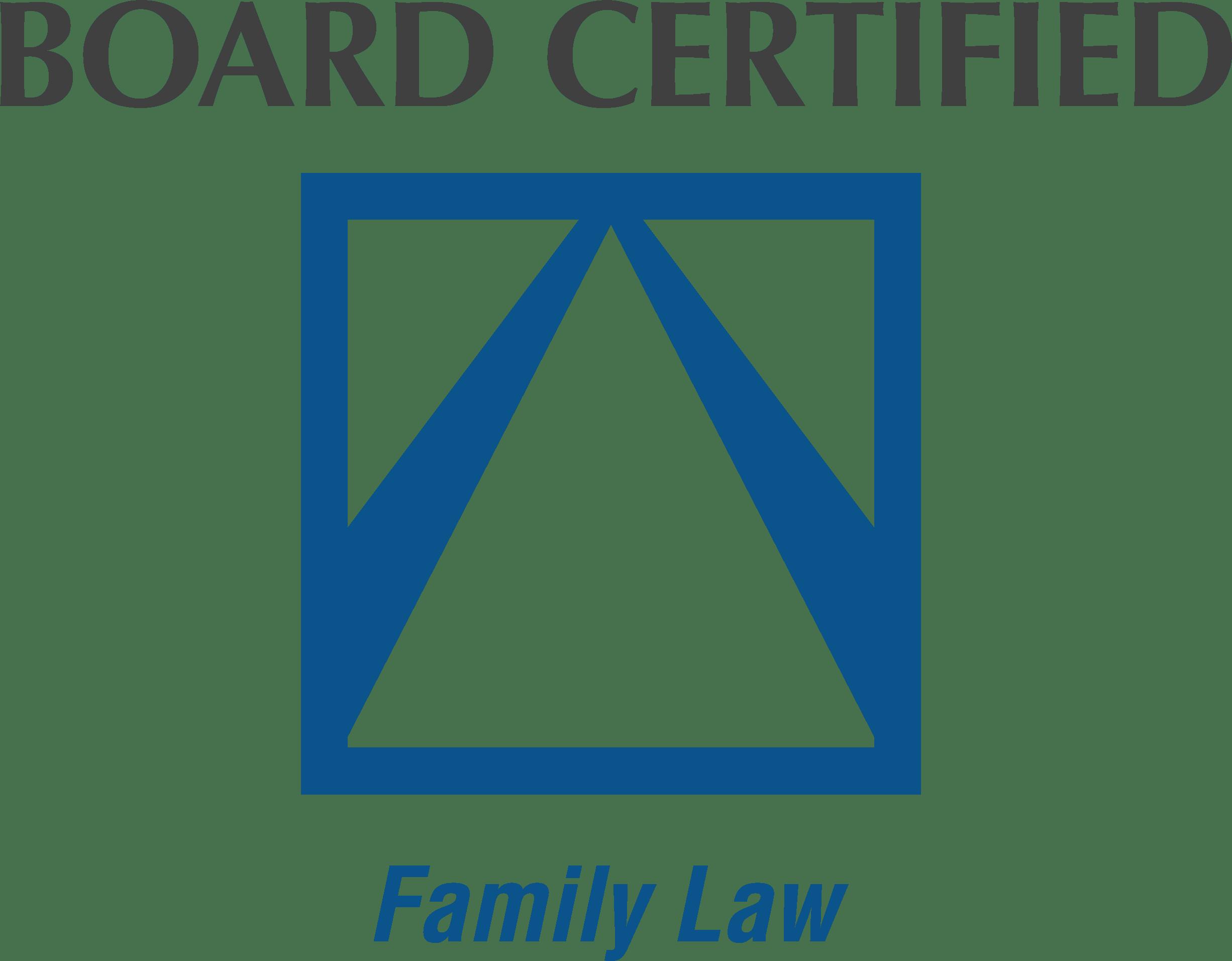 board cerified family law