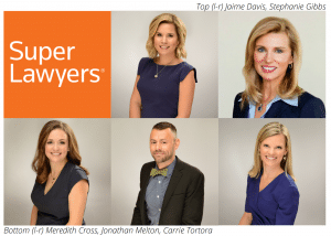 Gailor Hunt attorneys named to 2020 edition of NC Super Lawyers.