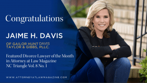 Raleigh divorce lawyer, Jaime Davis